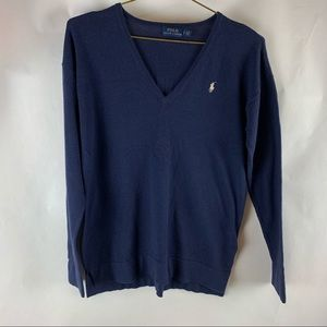 Polo Ralph Lauren Women's Size S Blue Sweater